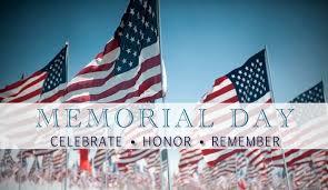 2016 Memorial day